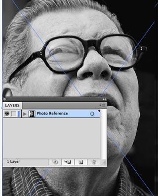step2 Make Watercolor  Marker Style Portraits with Illustrator - ساخت تصاویر چهره با سبک ماژیک و آبرنگ با استفاده از Illustrator