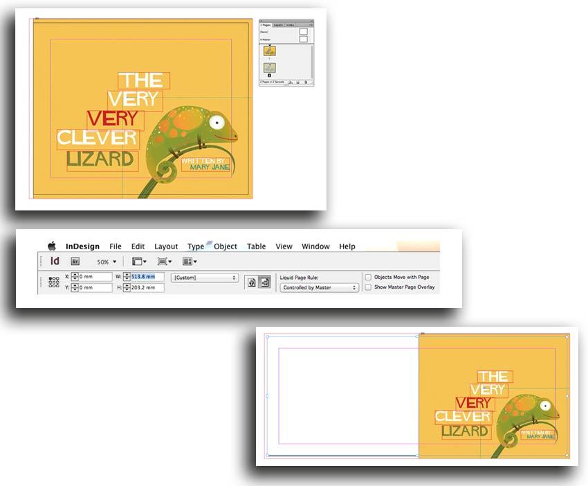 tasvirsazi Indesign 1 11 - آموزش گام به گام ساخت کتاب کودکان با ایندیزاین