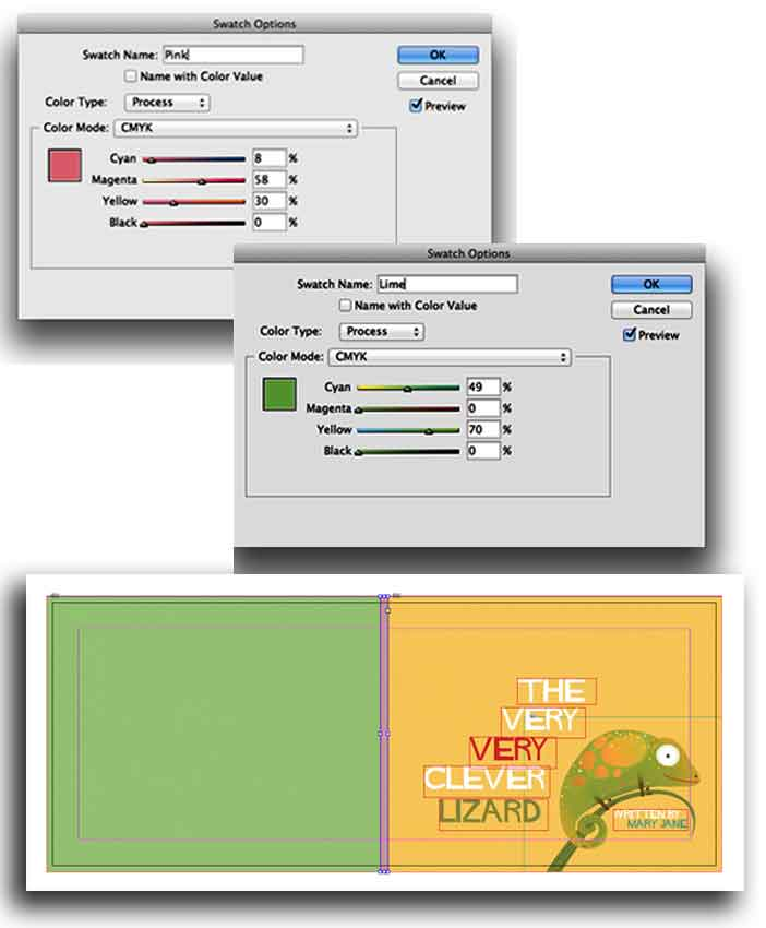 tasvirsazi Indesign 1 14 - آموزش گام به گام ساخت کتاب کودکان با ایندیزاین