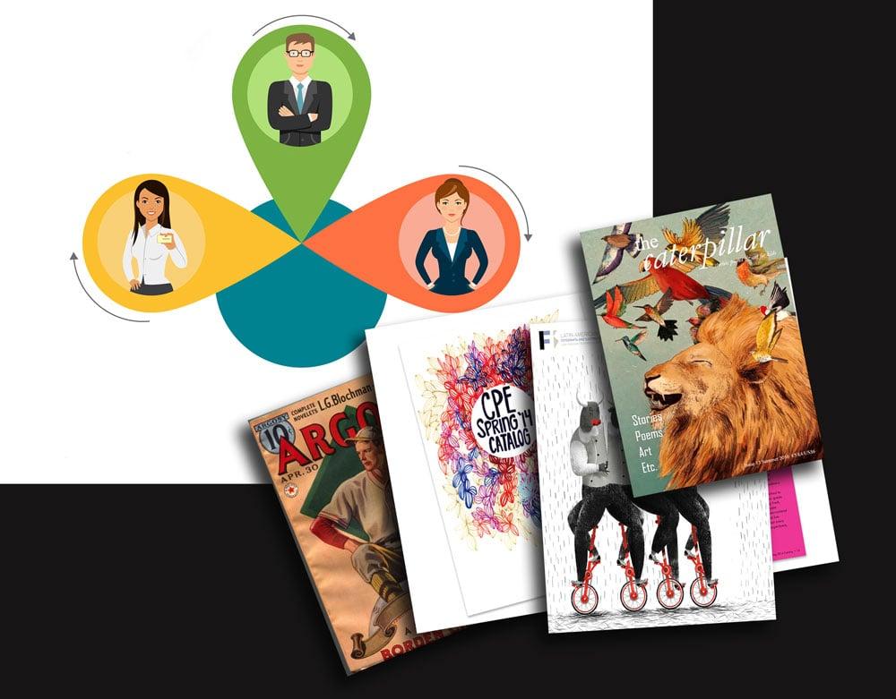 tasvirsazi nashrie yi - پنج مرحله تا تصویرسازی نشریات