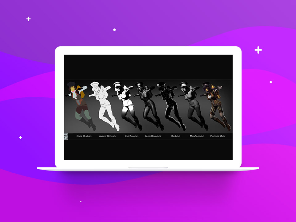 Applying Ambient Occlusion - نقاشی دیجیتال با فتوشاپ تکنیکها، ترفندها و آموزشها