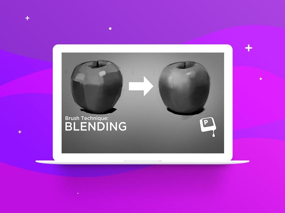 Blending photoshop digital painting - نقاشی دیجیتال با فتوشاپ : تکنیکها، ترفندها و آموزشها