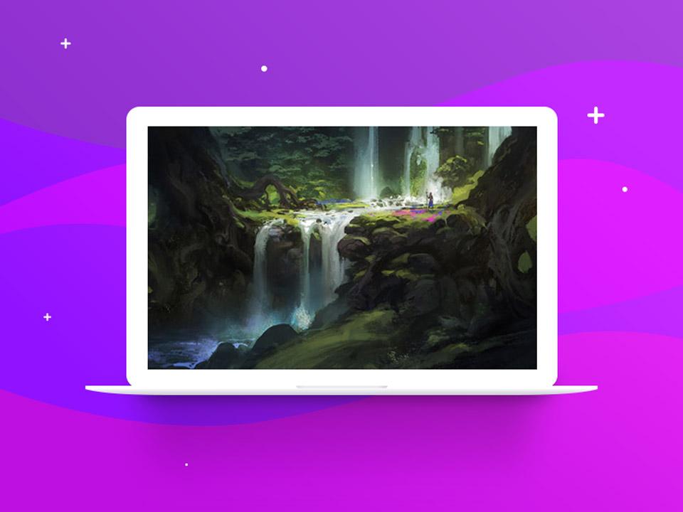 Blending with a Soft Brush - نقاشی دیجیتال با فتوشاپ : تکنیکها، ترفندها و آموزشها