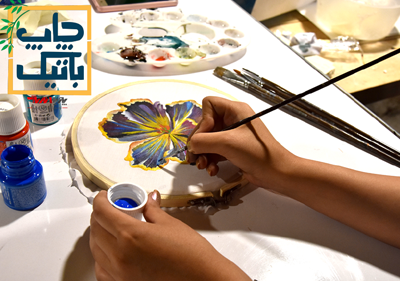 batik class pouyaandish - آموزشگاه پویا اندیش - مرکز آموزش های تخصصی هنر
