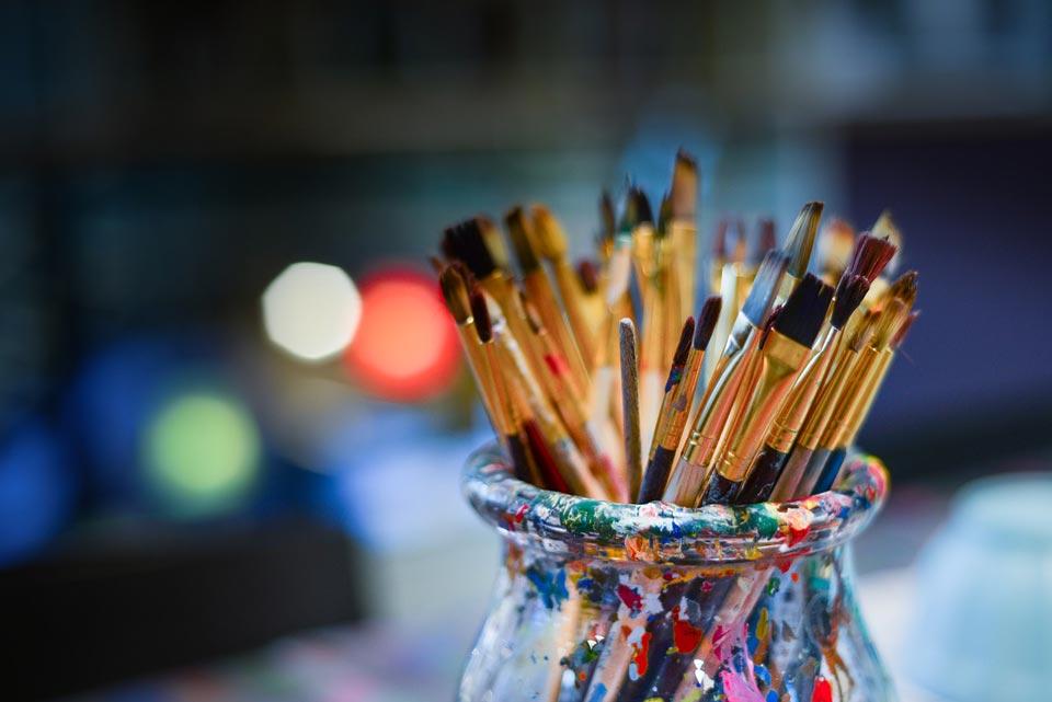 brushes - تفاوت طراحی دیجیتال با نقاشی دیجیتال :