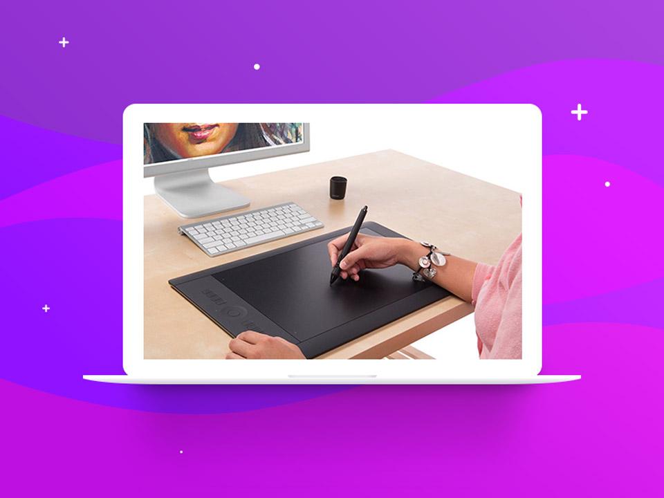 digital pen - نقاشی دیجیتال با فتوشاپ : تکنیکها، ترفندها و آموزشها