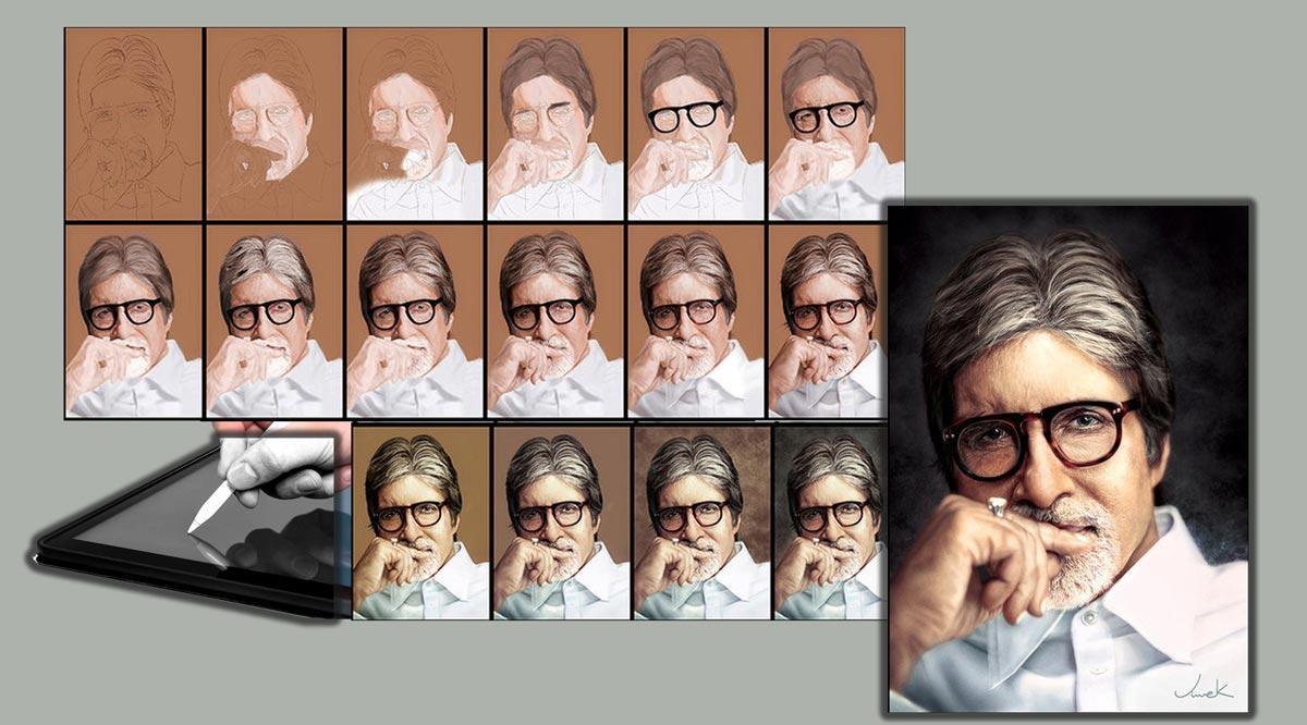 naghashi digital 2 - نقاشی دیجیتال چیست ؟
