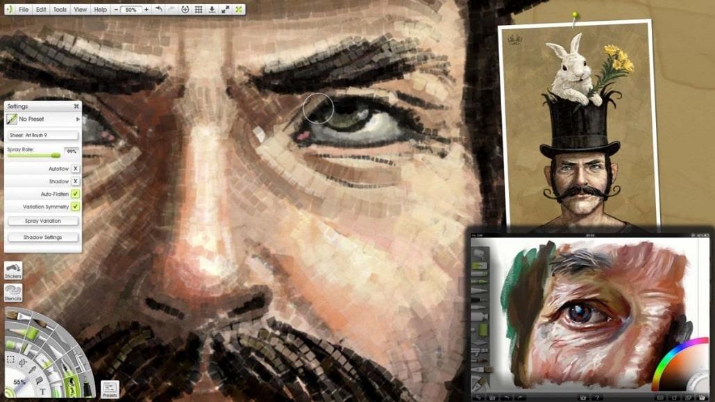 naghashi digital 5 - نقاشی دیجیتال چیست ؟