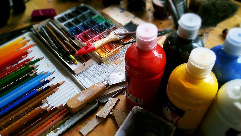painting tools - تفاوت طراحی دیجیتال با نقاشی دیجیتال :