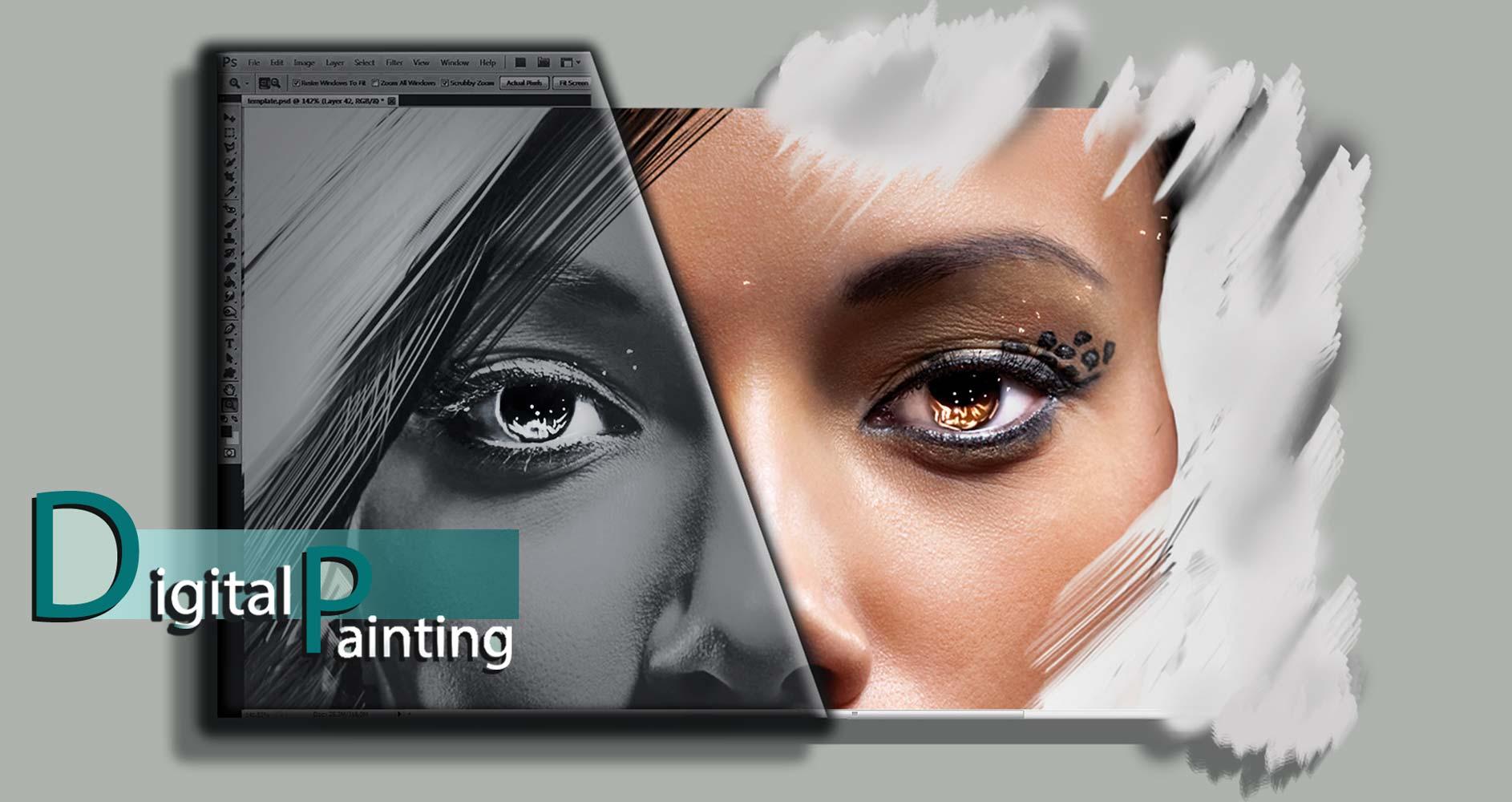 tasvirsazi digital s - نقاشی دیجیتال چیست ؟