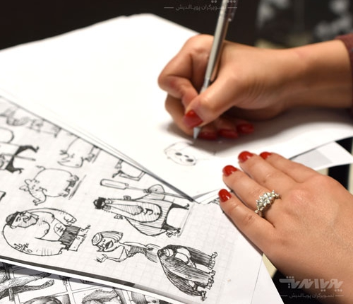 tarahi character 01 500x430 - آموزش طراحی کاراکتر