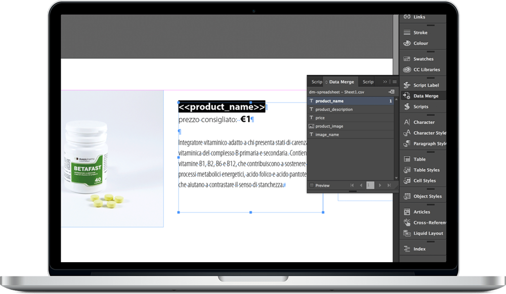 Data Merge InDesign 14 - ادغام داده ها یا data merge در ایندیزاین : یک آموزش سریع