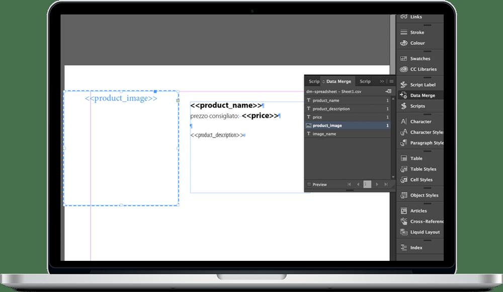 Data Merge InDesign 15 - ادغام داده ها یا data merge در ایندیزاین : یک آموزش سریع