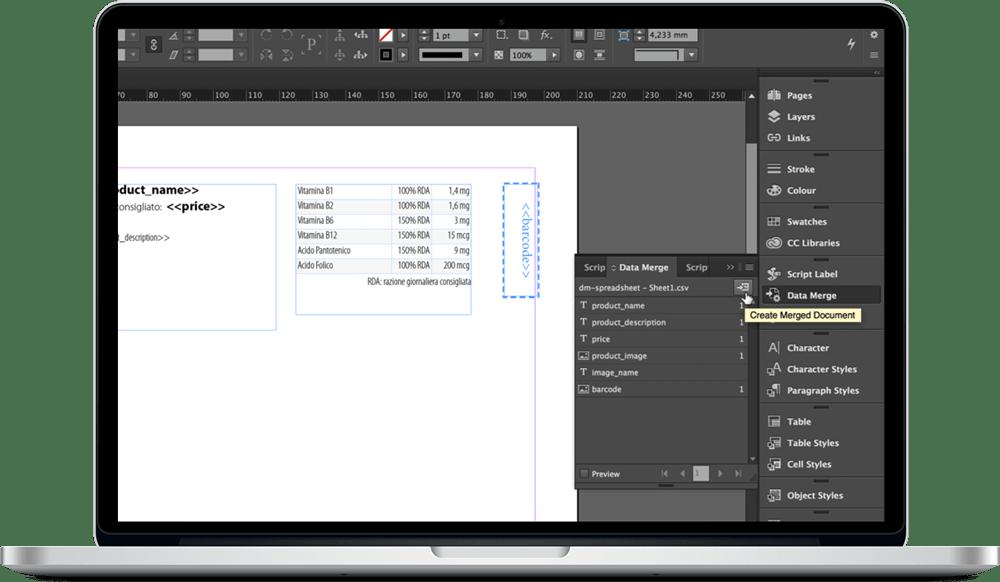 Data Merge InDesign 20 - ادغام داده ها یا data merge در ایندیزاین : یک آموزش سریع