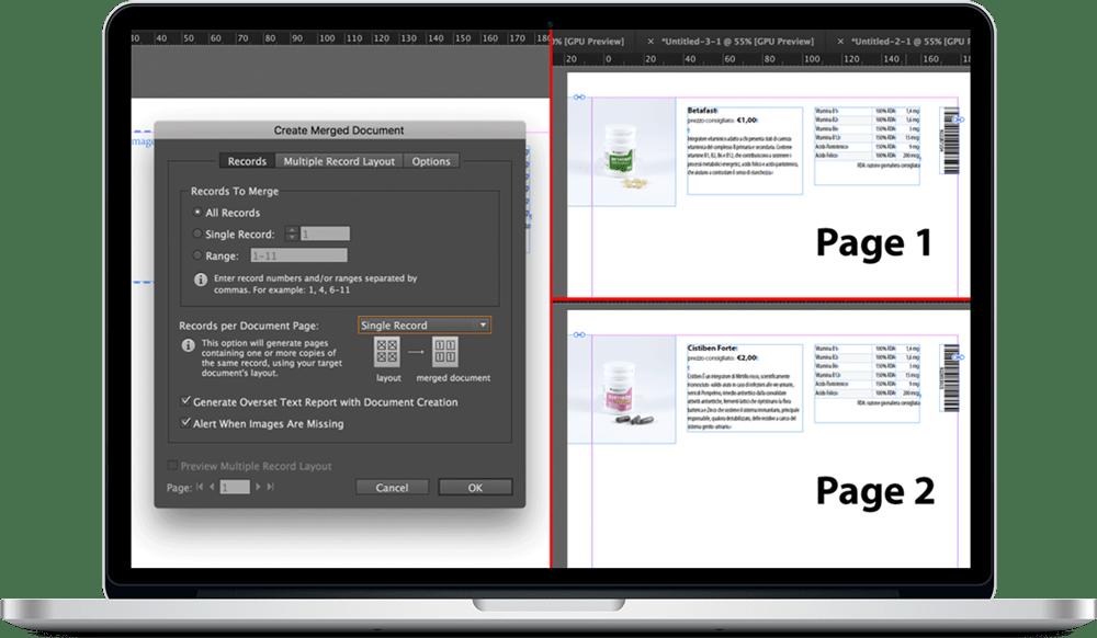 Data Merge InDesign 22 - ادغام داده ها یا data merge در ایندیزاین : یک آموزش سریع