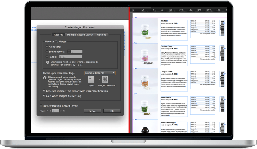 Data Merge InDesign 23 - ادغام داده ها یا data merge در ایندیزاین : یک آموزش سریع