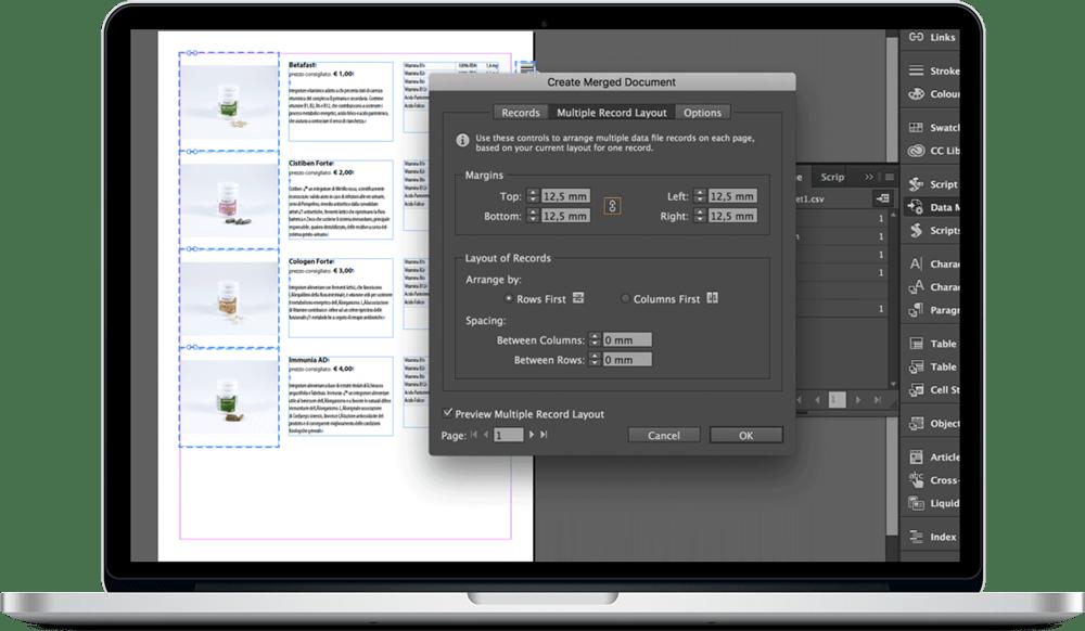 Data Merge InDesign 24 - ادغام داده ها یا data merge در ایندیزاین : یک آموزش سریع