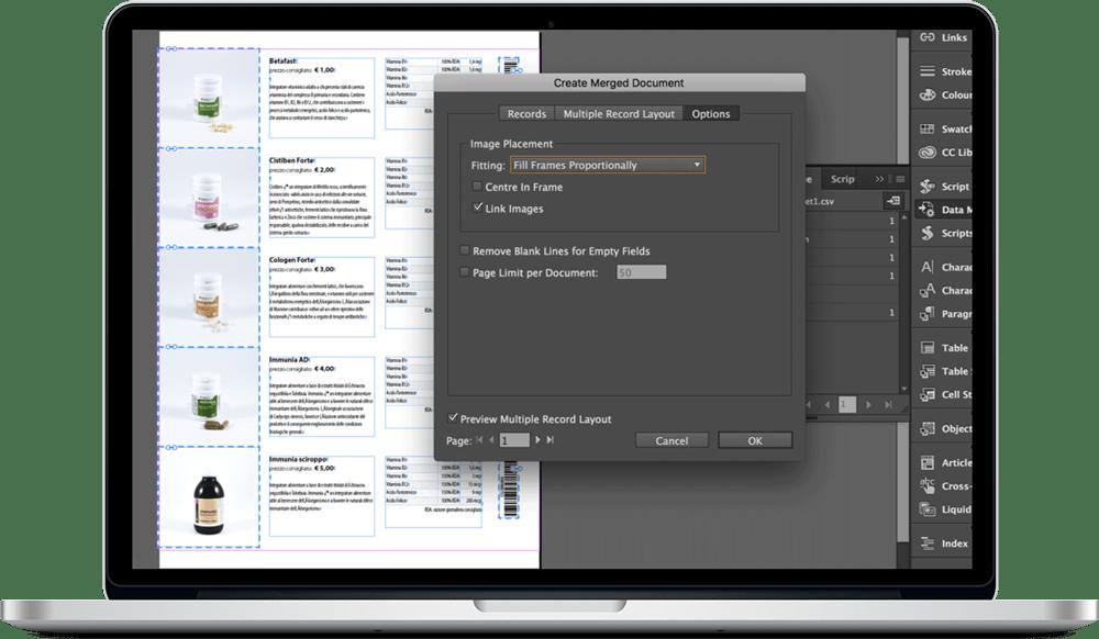Data Merge InDesign 25 - ادغام داده ها یا data merge در ایندیزاین : یک آموزش سریع