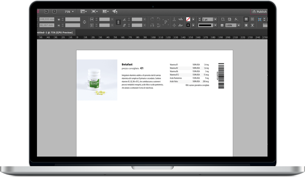Data Merge InDesign 3 - ادغام داده ها یا data merge در ایندیزاین : یک آموزش سریع