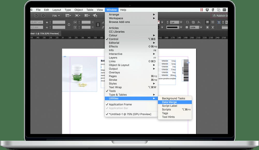 Data Merge InDesign 8 - ادغام داده ها یا data merge در ایندیزاین : یک آموزش سریع
