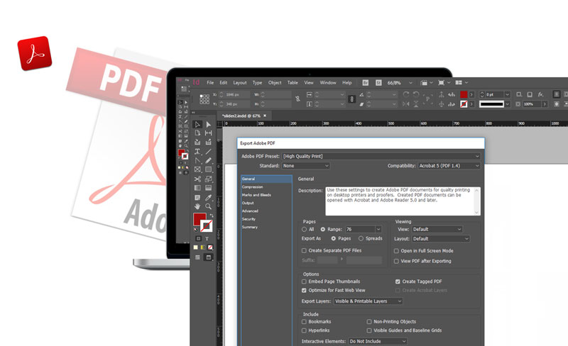 INDESIGN PRINTING TIPS PRINT TO PDF VS IMAGE FILE VS NATIVE FILE 4 - پرینت در ایندیزاین به روش های PDF