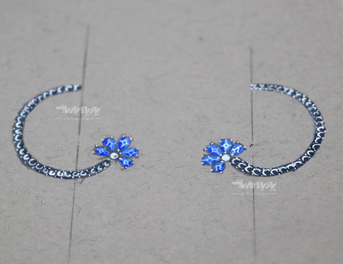 طراحی جواهر دستی