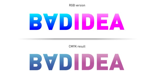 using the RGB color cmyk 12 - چاپ CMYK در برابر RGB: تفاوت‌ در چیست؟