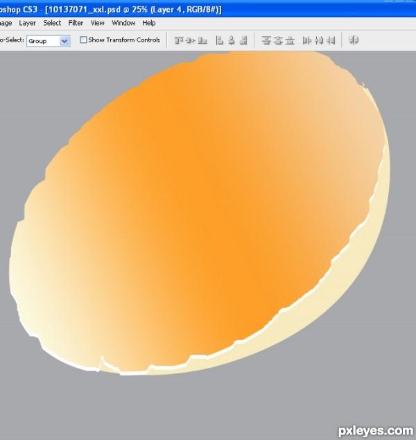 photoshop egg 13 - آموزش ساخت تخم مرغ در فتوشاپ