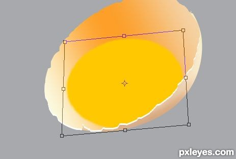 photoshop egg 16 - آموزش ساخت تخم مرغ در فتوشاپ