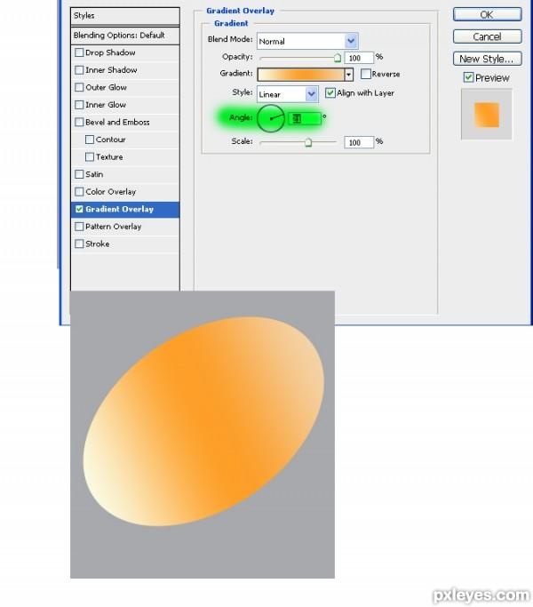photoshop egg 7 - آموزش ساخت تخم مرغ در فتوشاپ