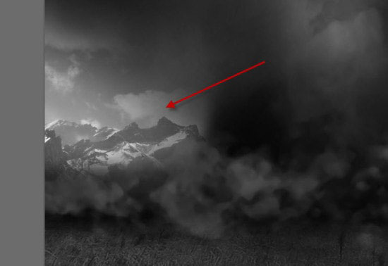 pouyaandish photoshop dainasor21 - ساخت نقاشی دیجیتالی در فوتوشاپ : « انقراض دایناسورها»