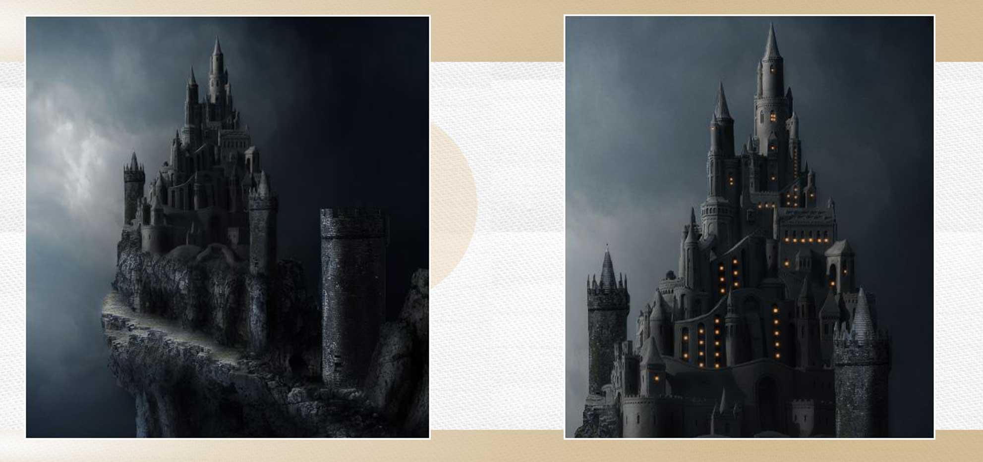 sakhte ghalee 14 - آموزش تصویری ساخت قلعه در فتوشاپ