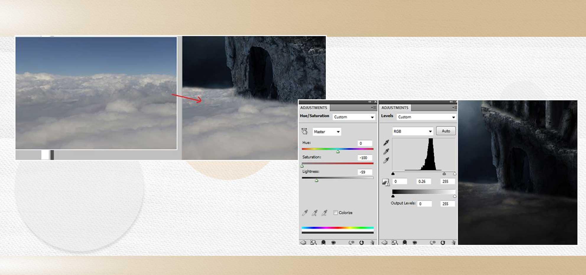 sakhte ghalee 17 - آموزش تصویری ساخت قلعه در فتوشاپ