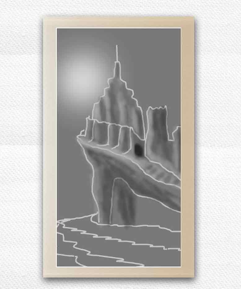 sakhte ghalee 4 - آموزش تصویری ساخت قلعه در فتوشاپ