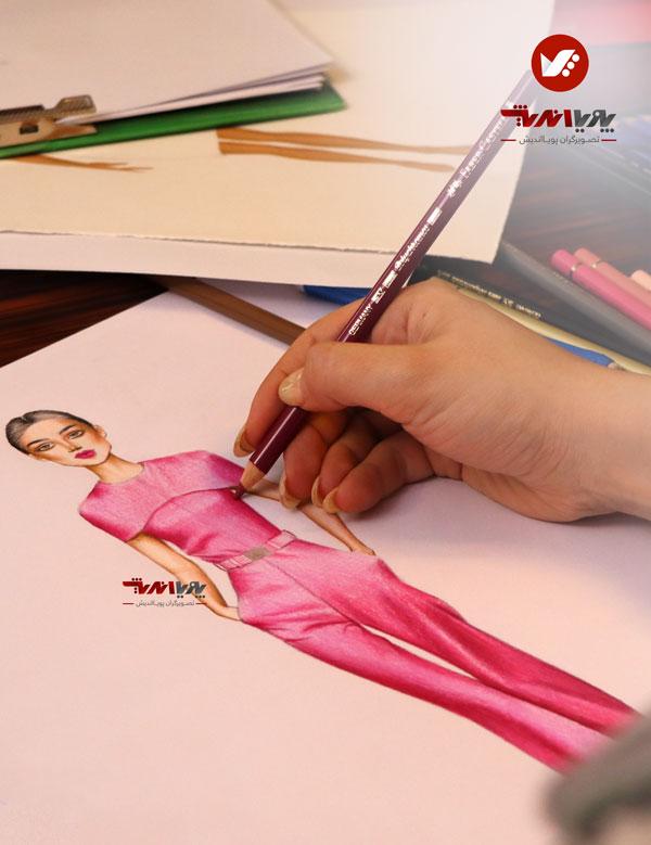tarahilebas dress2 - آموزش طراحی لباس