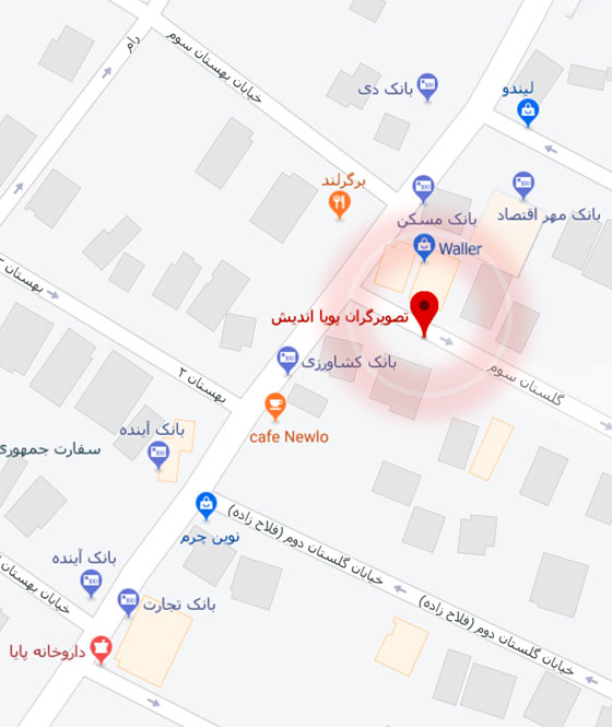 addres pouyaandish final map 33 - راینو گلد | Rhinogold