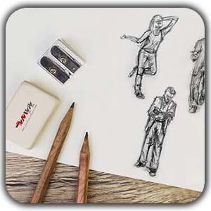 drawing tarahi badan shakhes - عناصر ارگانیک در طراحی دکوراسیون