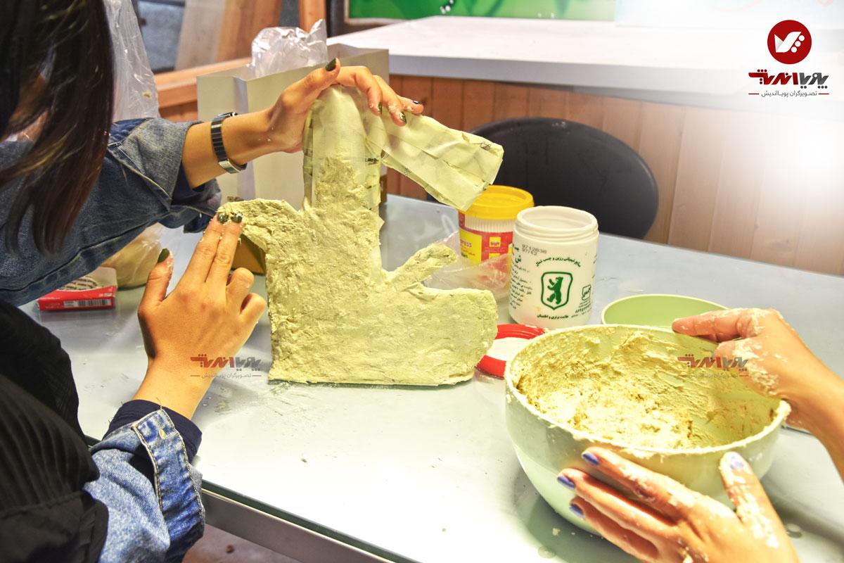 هنرجویان پاپیه ماشه