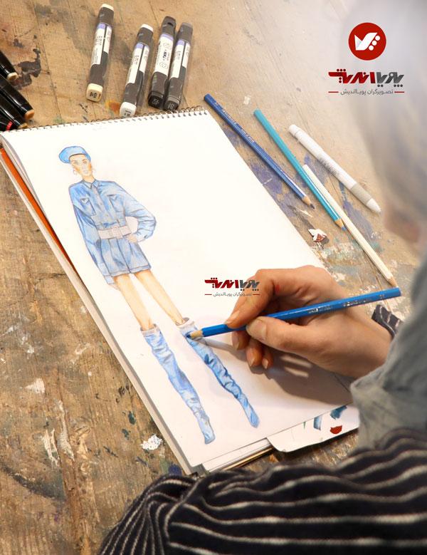 tarahilebas dress5 - آموزش طراحی لباس
