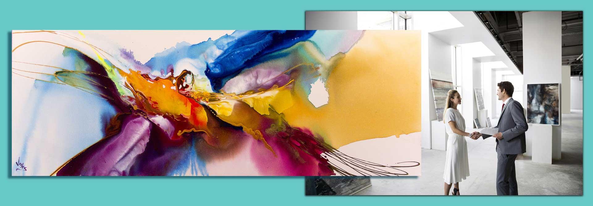 99 methods for selling  artwork3 - ۹۹ روش برای فروش آثار هنری