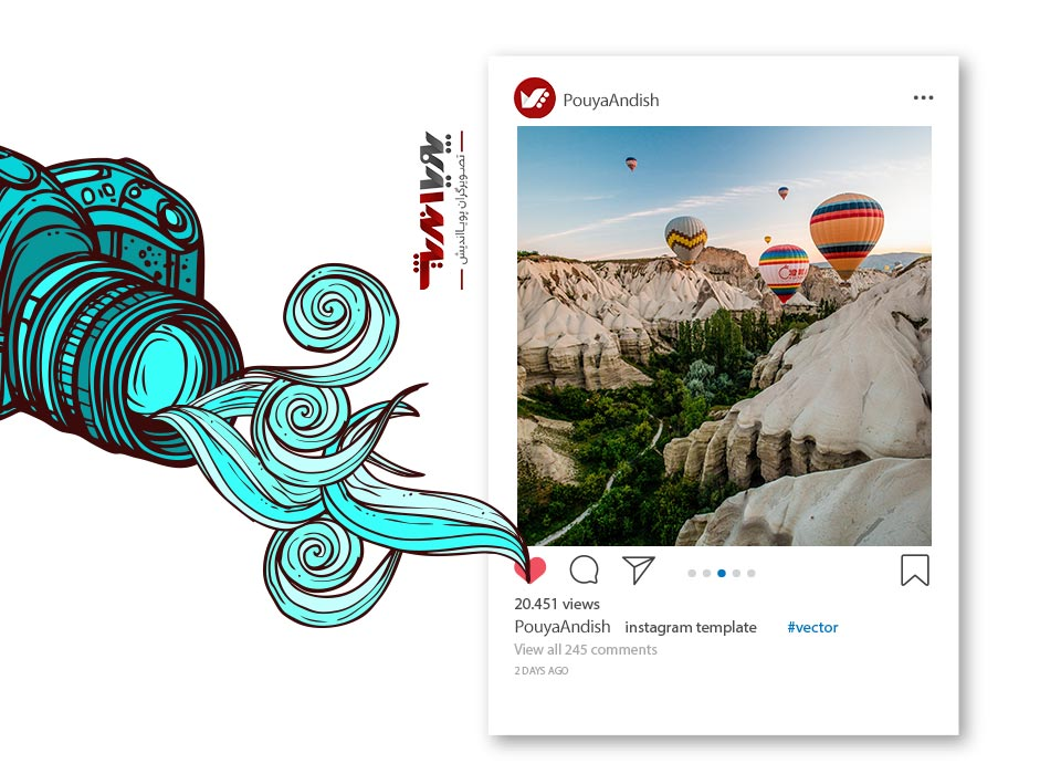 instagram and art photography - چگونه به عنوان یک هنرمند کسب درآمد در اینستاگرام داشته باشیم