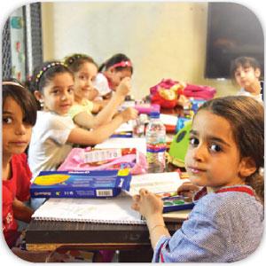 کلاس های کودک