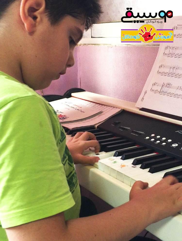 دوره آموزش پیانو به کودکان