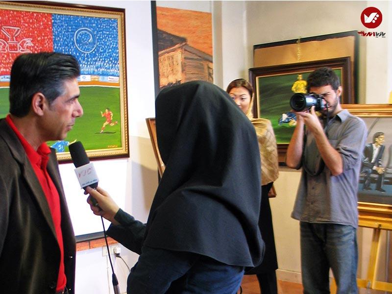 afshin ghotbi 3 - نمایشگاه آثار هنری همسر افشین قطبی ( یوروم ) در پویا اندیش