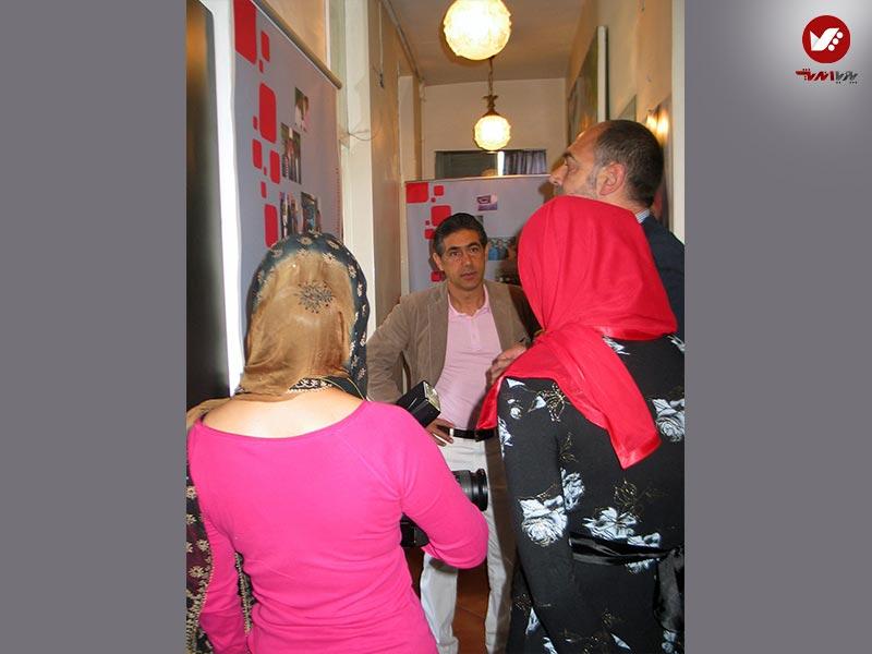 afshin ghotbi 1 8 - نمایشگاه آثار هنری همسر افشین قطبی ( یوروم ) در پویا اندیش