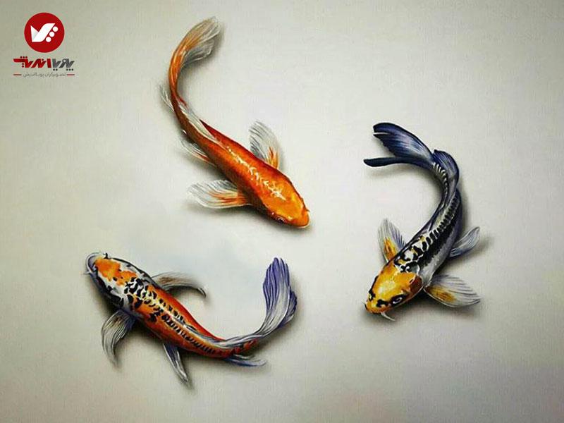 naghashi 3d painting pouyaandish 3 - نقاشی سه بعدی