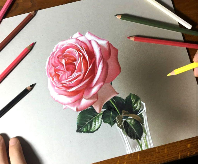 naghashi 3d painting pouyaandish 5 - نقاشی سه بعدی