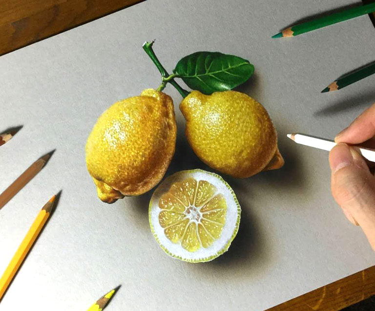 naghashi 3d painting pouyaandish 9 - نقاشی سه بعدی