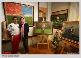 pouyaandish 11 260x185 - نمایشگاه آثار هنری همسر افشین قطبی ( یوروم ) در پویا اندیش