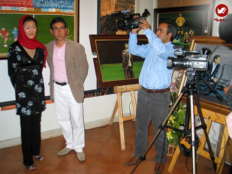 pouyaandish 18 - نمایشگاه آثار هنری همسر افشین قطبی ( یوروم ) در پویا اندیش